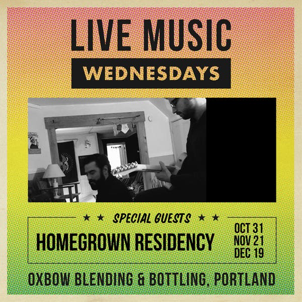 Live Music Wednesdays: Homegrown Residency