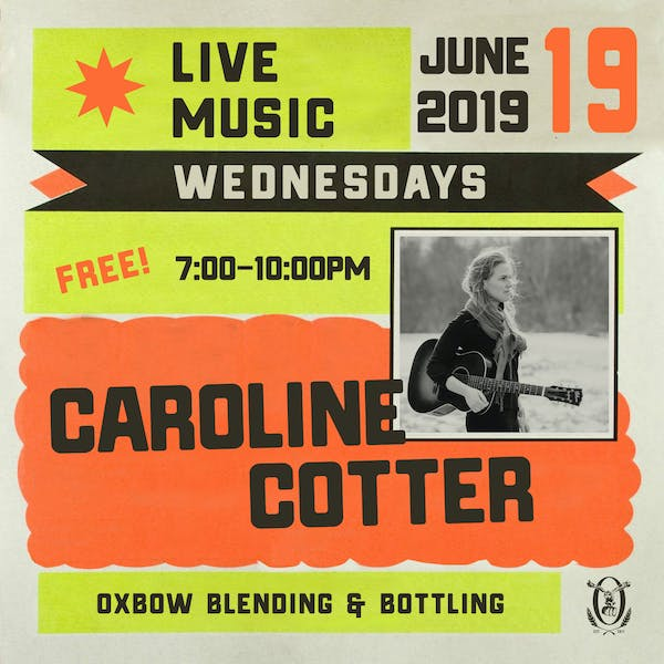 Live Music Wednesdays: Caroline Cotter