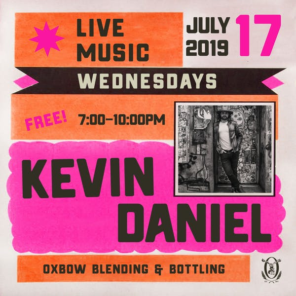 Live Music Wednesdays: Kevin Daniel