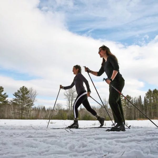 Press Herald – Beer and cross-country skiing