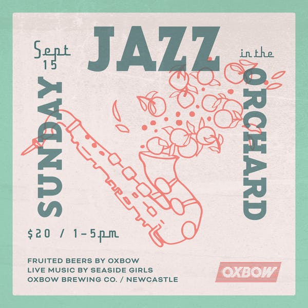Sunday Jazz in the Orchard