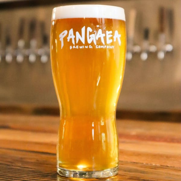 Light and crisp ginger wheat ale with a punch of citrus from fresh lemon and lemongrass