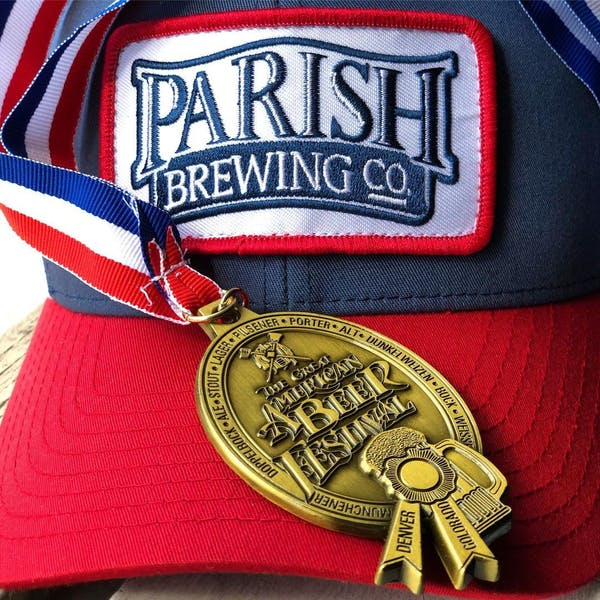 Parish Brewing's Pure Tropics wins gold medal at Great American Beer Festival