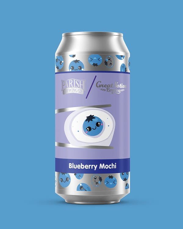 Image or graphic for Blueberry Mochi