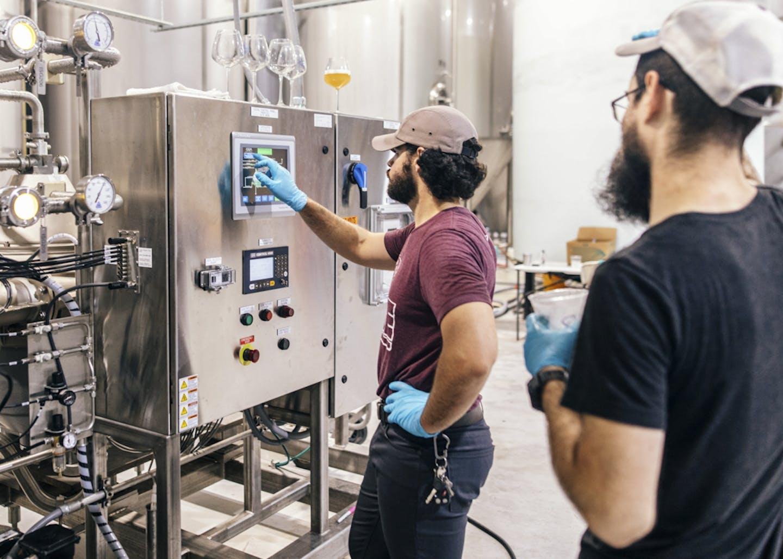 Parish Brewing Brewing equipment
