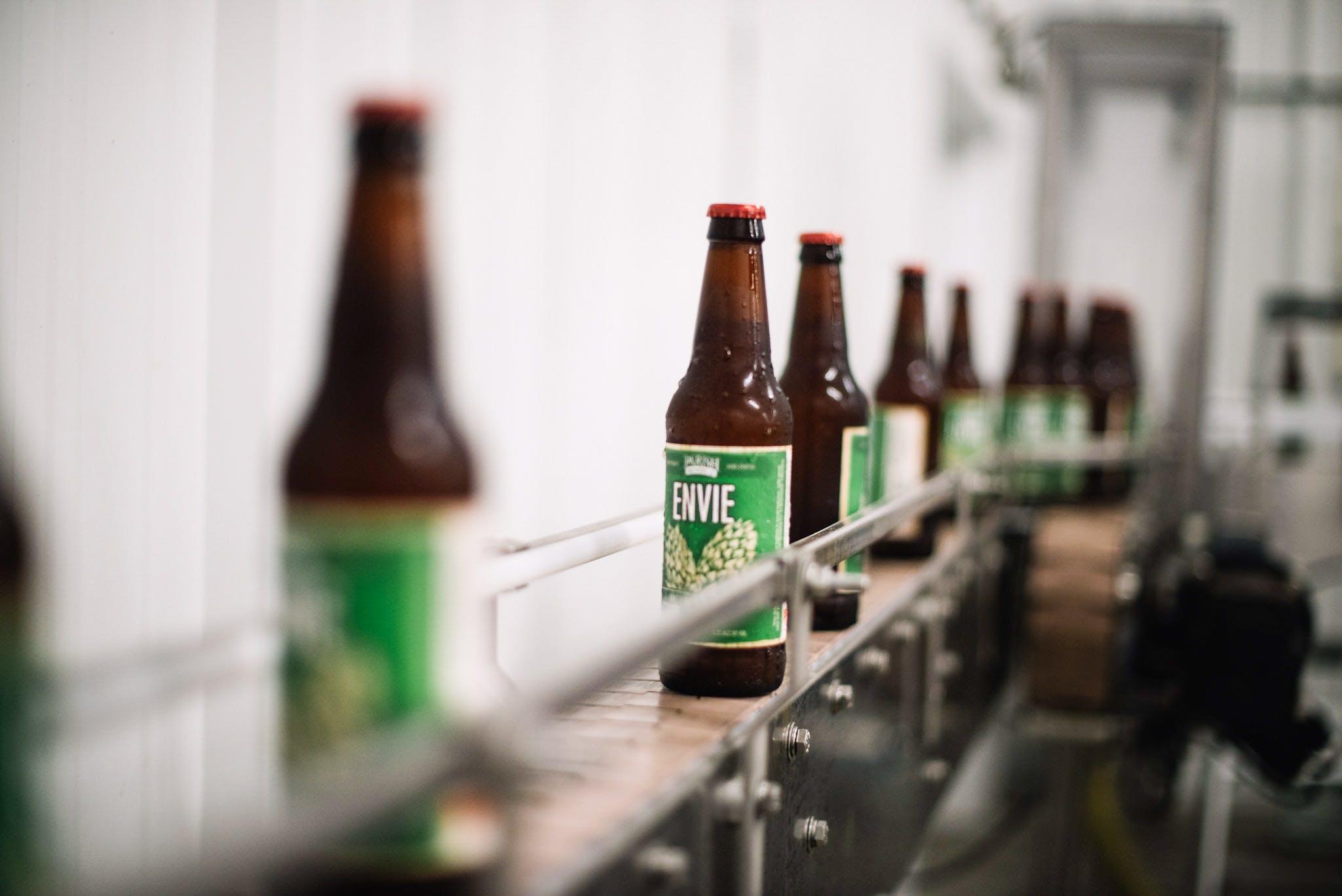 Envie bottling line