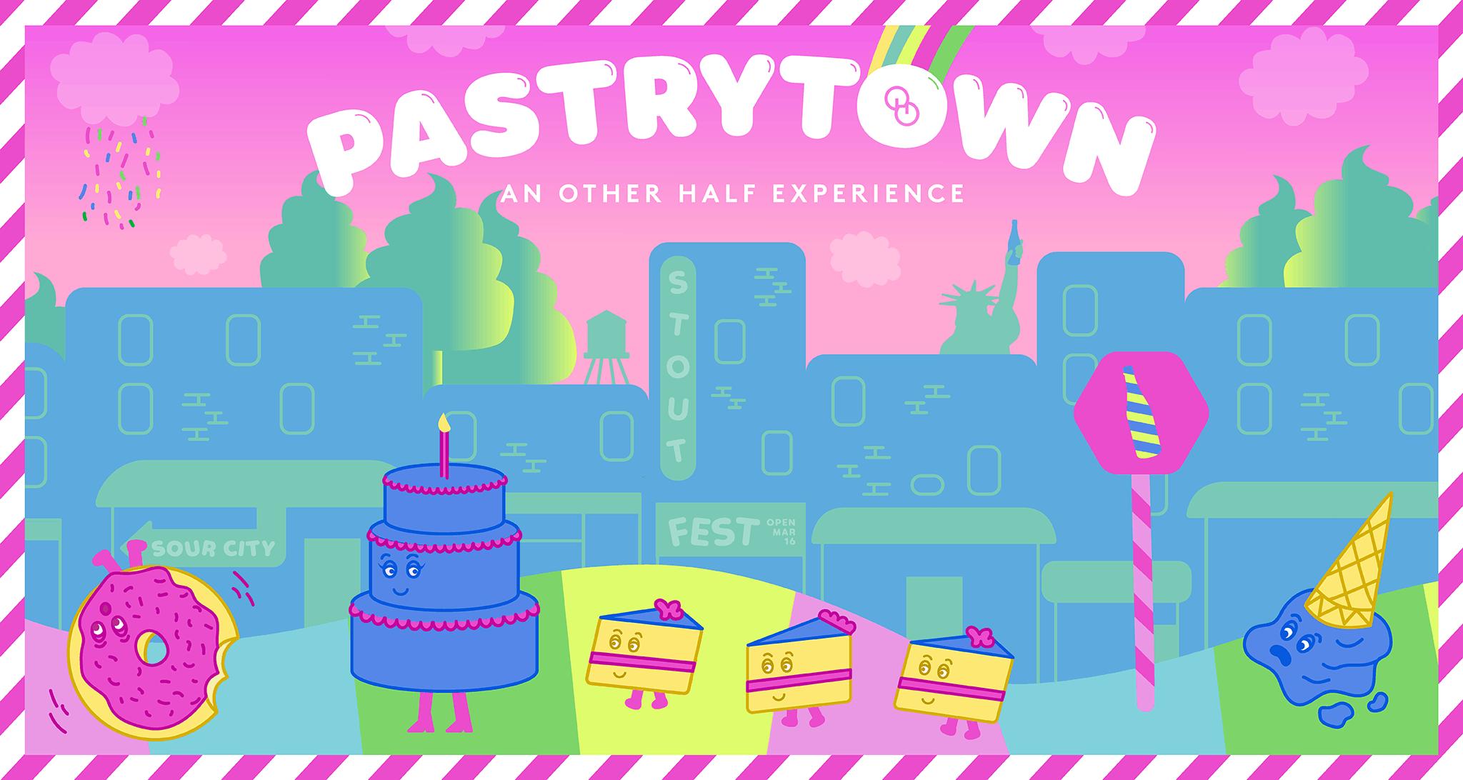 Pastrytown - Website Header