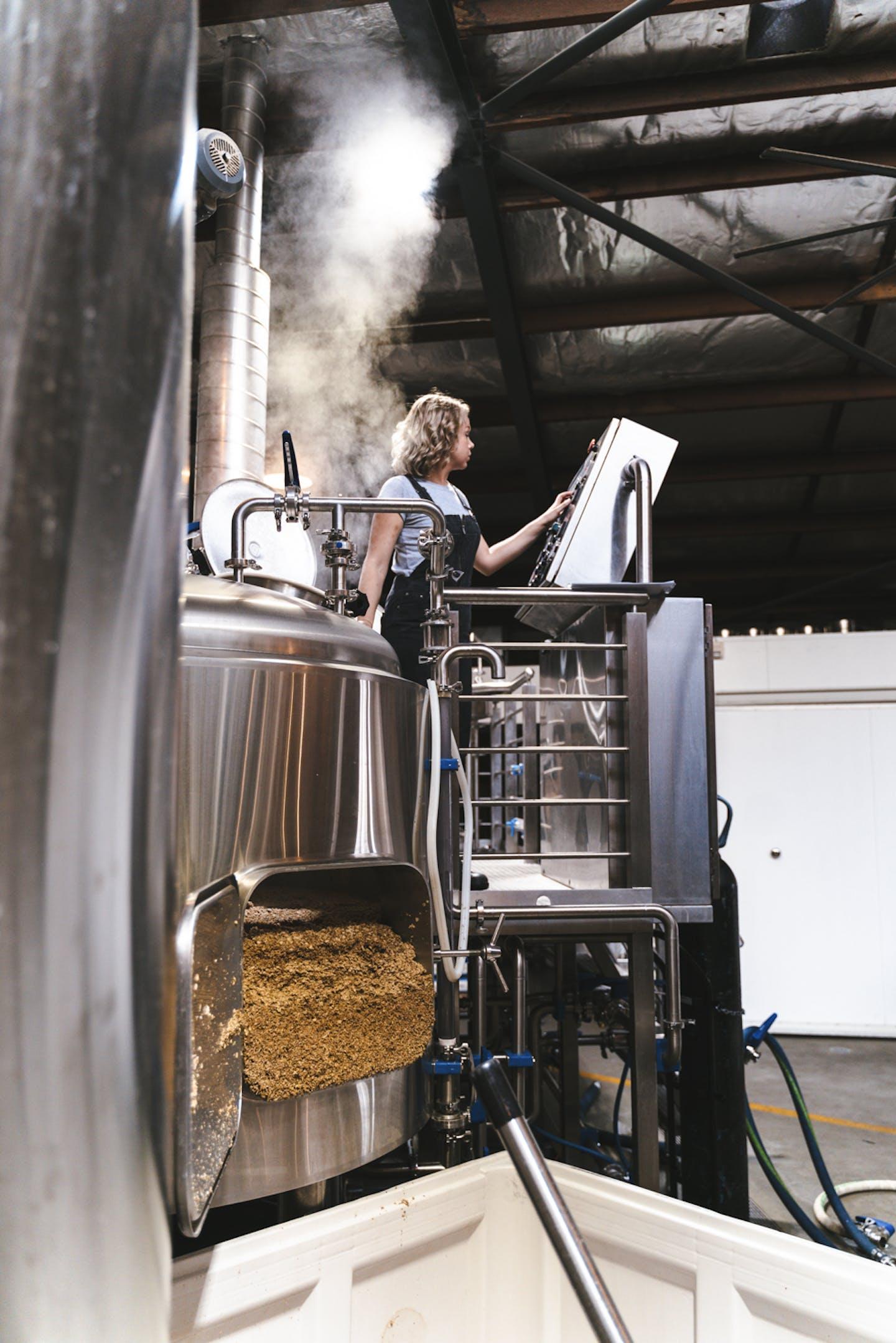 Brewing brewing beer
