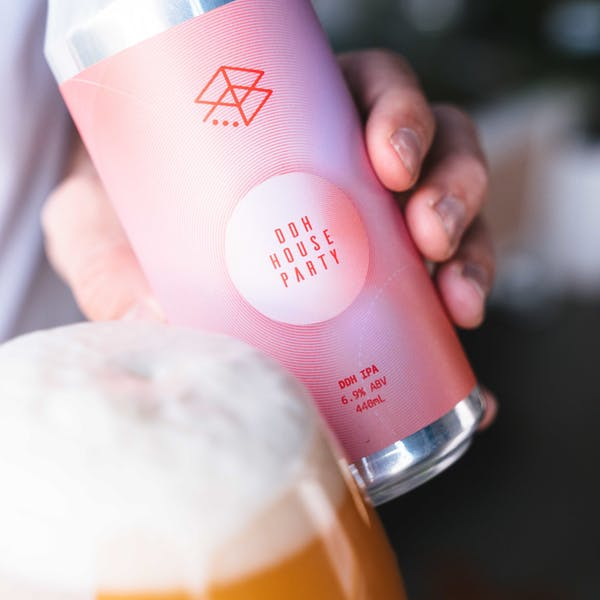 Beer Release: DDH House Party, c r i s p