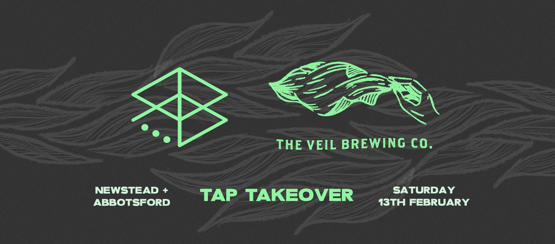 The Veil tap takeover FB cover photo