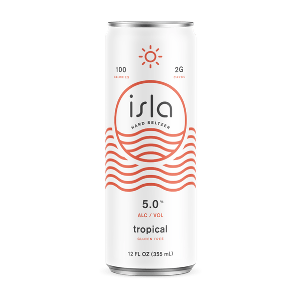 Image or graphic for Isla Tropical Hard Seltzer