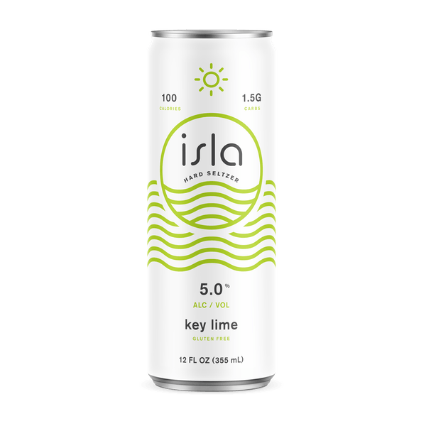 Isla Key Lime Hard Seltzer