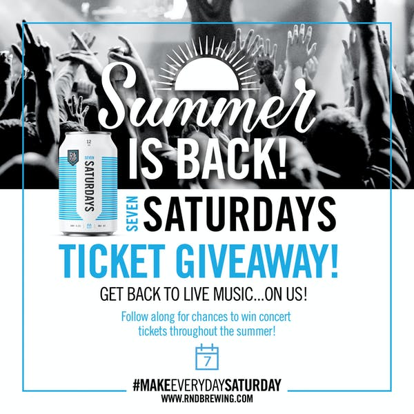 Seven Saturdays Summer is Back Ticket Giveaway