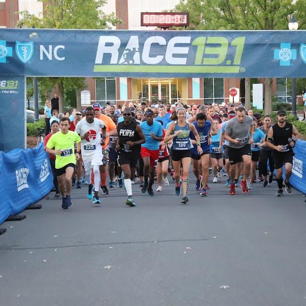 Race 13.1 Raleigh Half Marathon