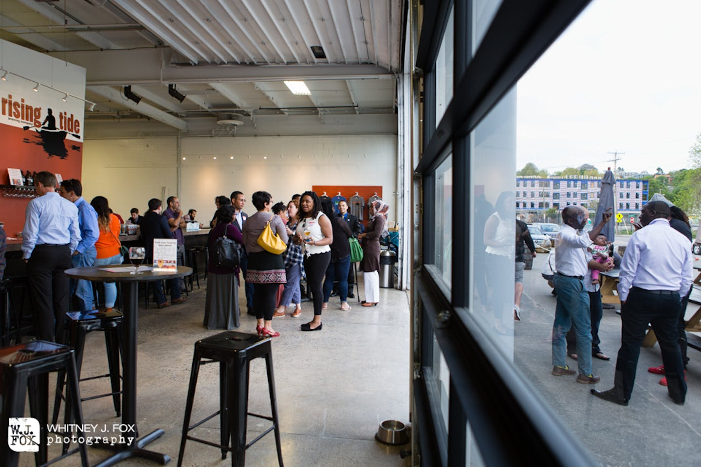 Represent: Networking for Professionals of Color.  That means anyone!  Held at Rising Tide Brewery in Portland, this May 23, 2016 event was the second meeting of this newly formed group.  A great energy surrounds it, and we're all excited to see what come