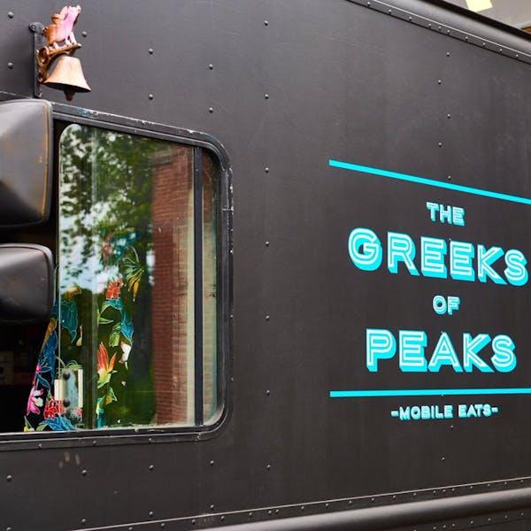 Greeks of Peaks