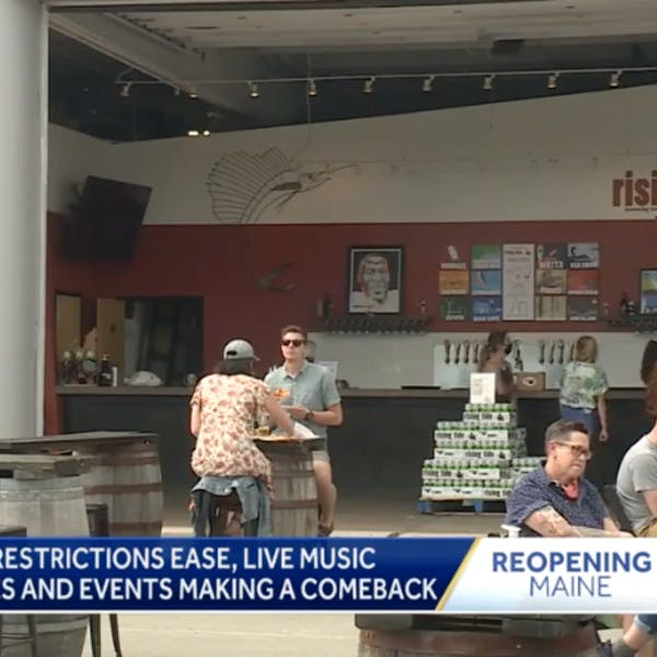 Performers, venues celebrate return of live music