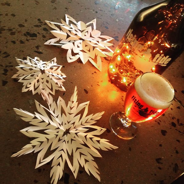 Paper Snowflakes Party!