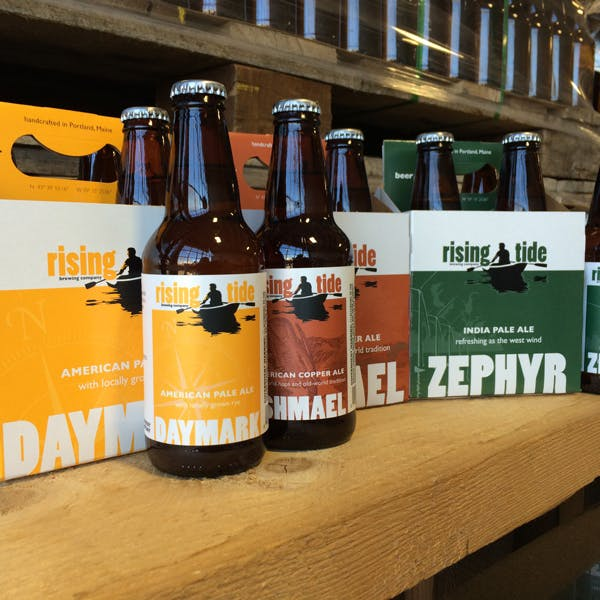 Rising Tide Shifts to 12 oz. Four Packs for Core Beers