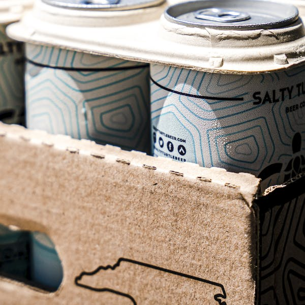 Surf City brewery first in North Carolina to use can holders edible by marine wildlife