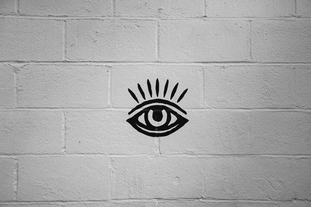 Sideward Brewing Co. - Eye Logo Brick Wall