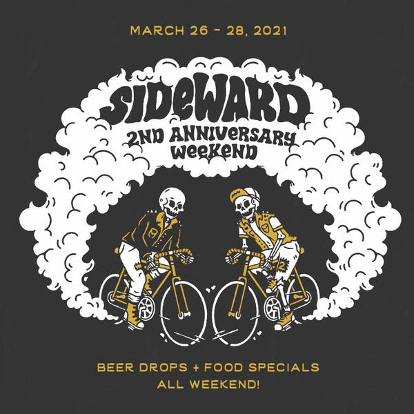 Sideward turns TWO!
