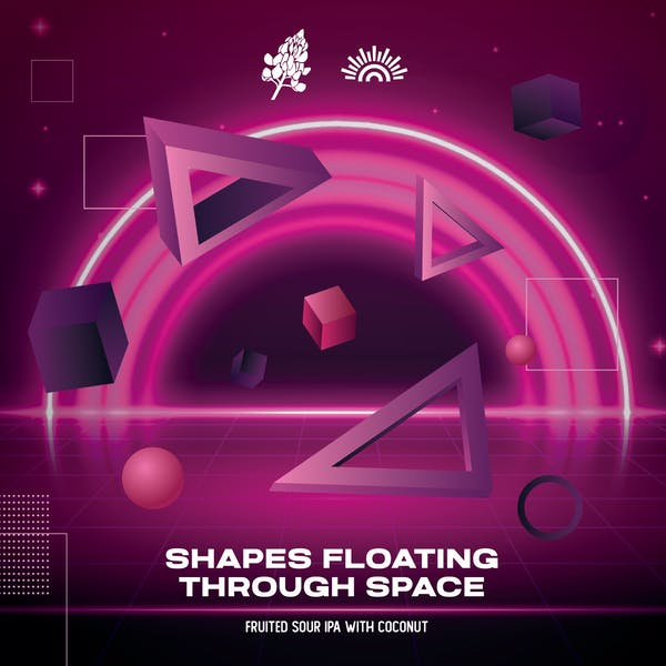 Shapes Floating Through Space