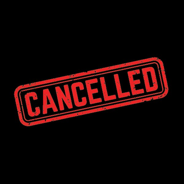 Image or graphic for Van Cancelled