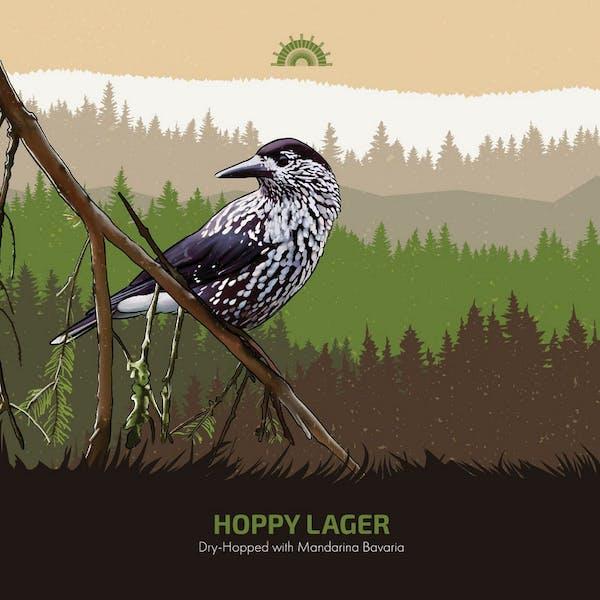 Hoppy Lager With Mandarina Bavaria