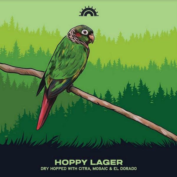 Hoppy Lager With Citra, Mosaic & El Dorado