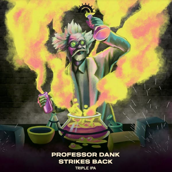 Professor Dank Strikes Back
