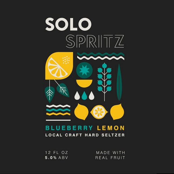 Image or graphic for Solo Spritz Blueberry Lemon