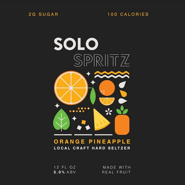 Image or graphic for Solo Spritz Orange Pineapple