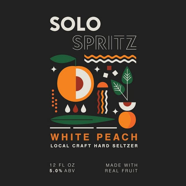 Image or graphic for Solo Spritz White Peach