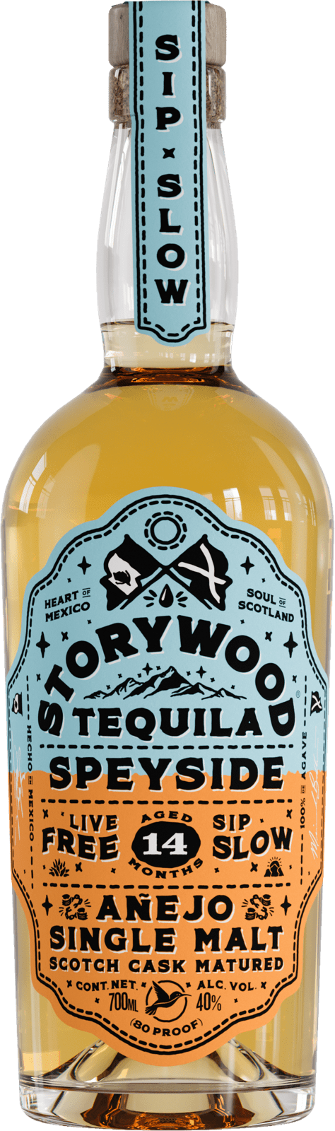 Storywood Speyside 14 anejo tequila