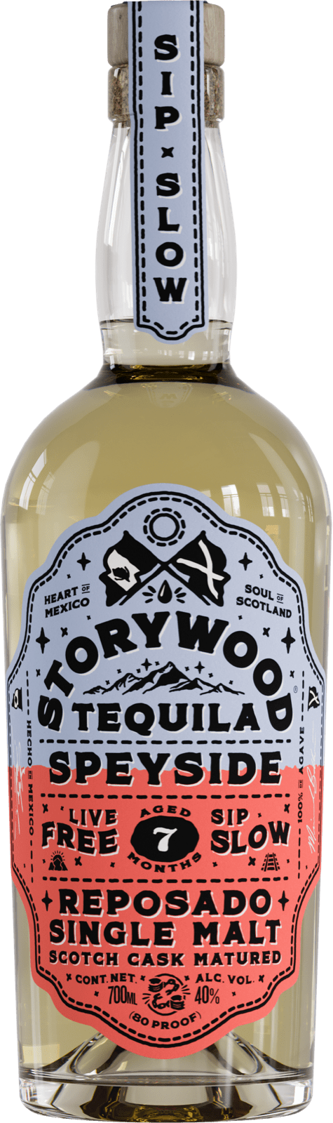 Storywood Speyside 7 reposado tequila