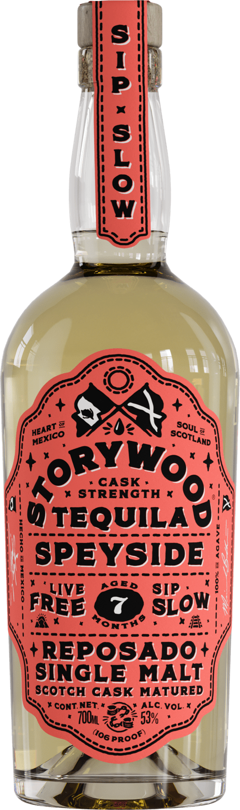 Storywood Speyside 7 Cask Strength tequila