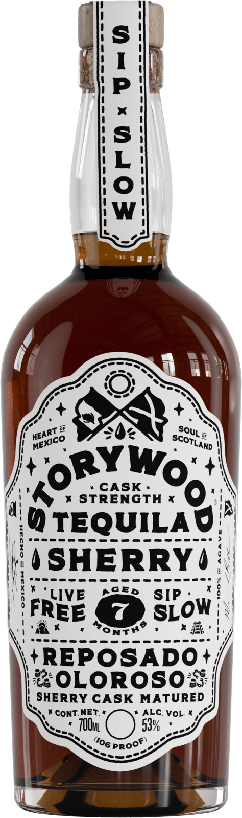 Storywood Sherry 7 tequila