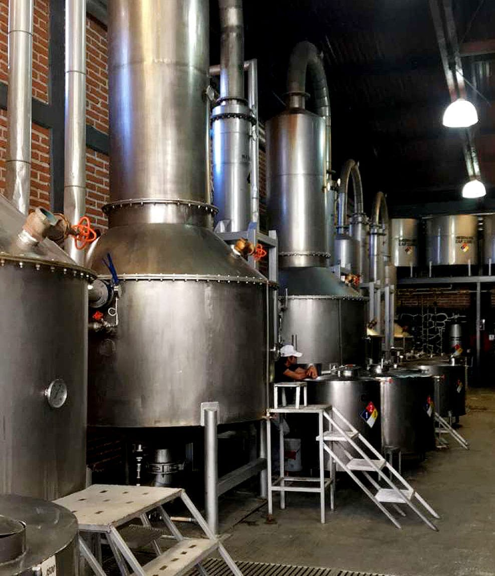 Storywood tequila distillery