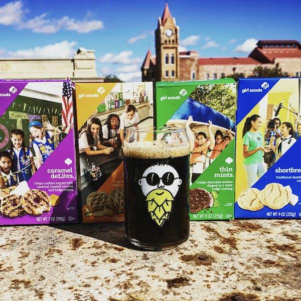 Craft Beer & Girl Scout Cookies
