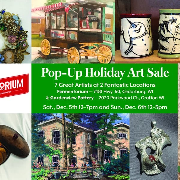Pop Up Holiday Art Sale