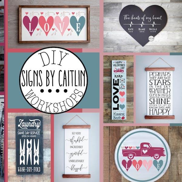DIY- Signs by Caitlin