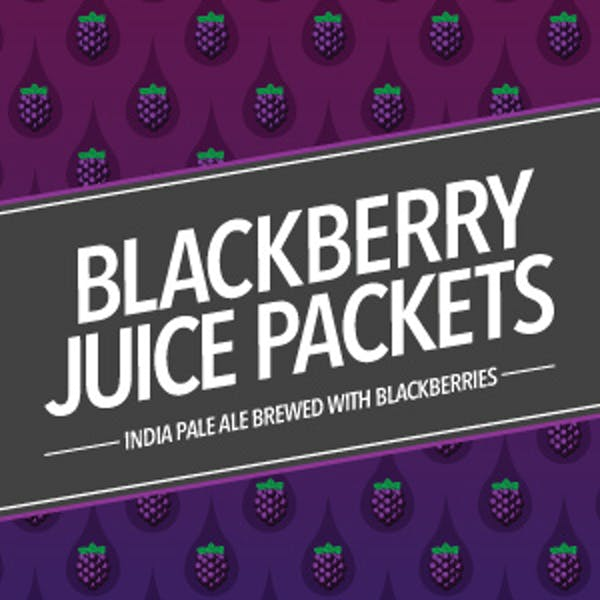 Blackberry Juice Packets