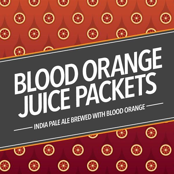 Blood Orange Juice Packets