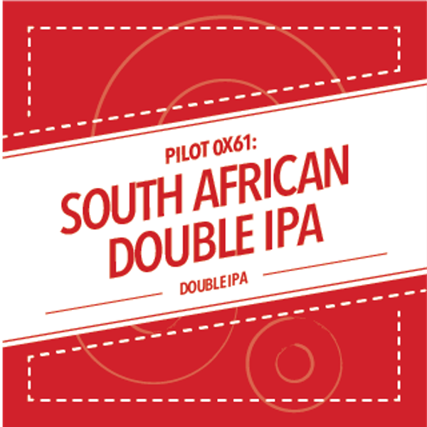 Image or graphic for PILOT 0x61: SOUTH AFRICAN DOUBLE IPA