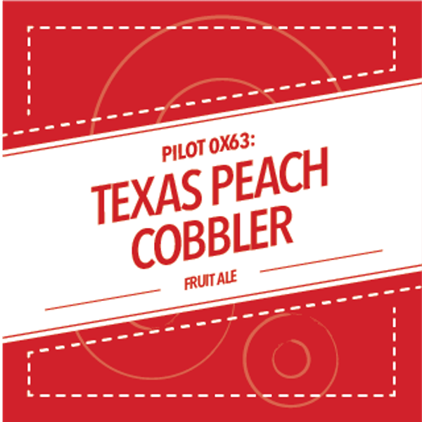 Image or graphic for PILOT 0X63: TEXAS PEACH COBBLER