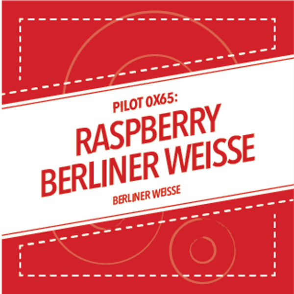 Image or graphic for PILOT 0X65: RASPBERRY BERLINER WEISSE