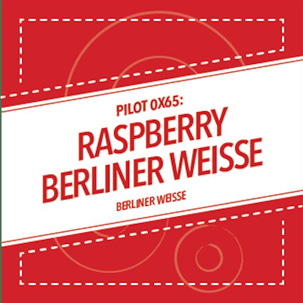 PILOT 0X65: RASPBERRY BERLINER WEISSE