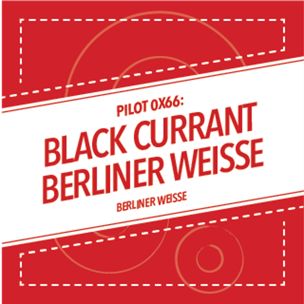 Image or graphic for PILOT 0X66: BLACK CURRANT BERLINER WEISSE