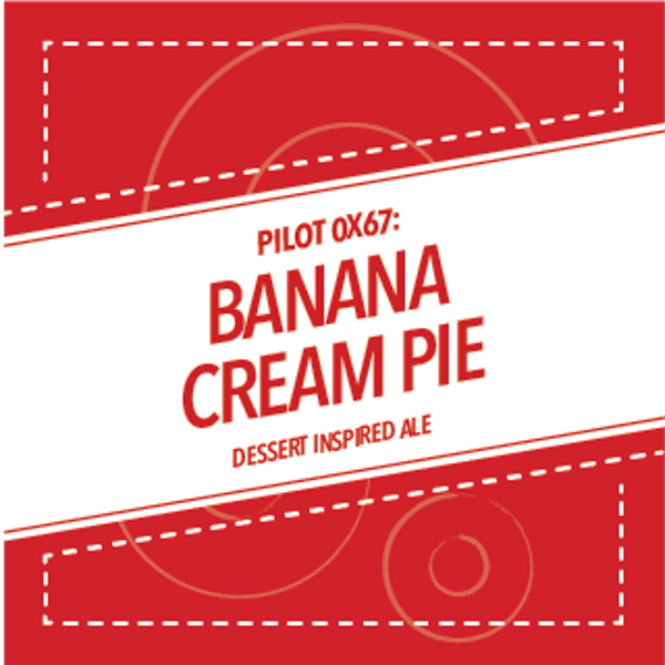 Image or graphic for PILOT 0X67: BANANA CREAM PIE